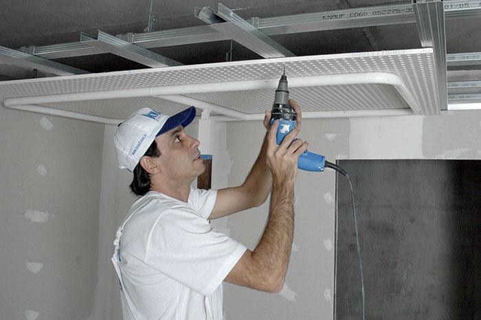 Evento discute as boas práticas para instalação de drywall