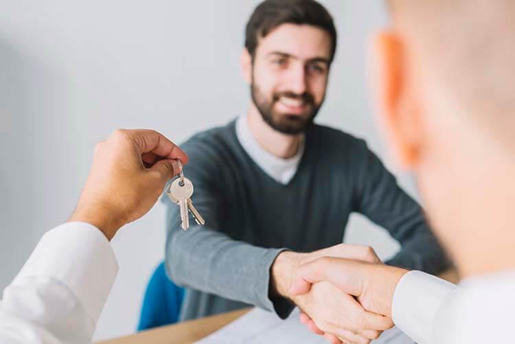 Mercado de aluguel em alta