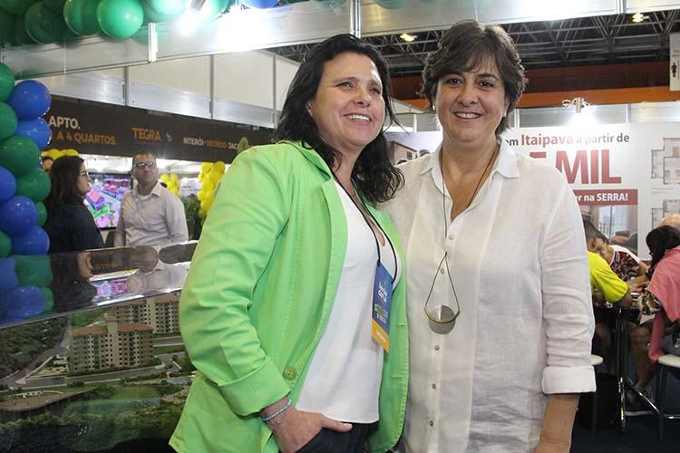 Denise De Ls Pena e Mariliza Fontes Pereira, diretoras da empresa