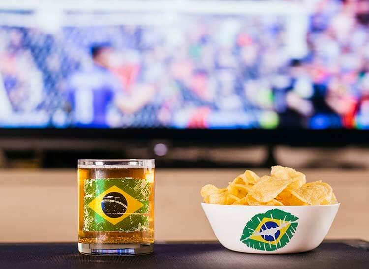 Casa no clima da Copa