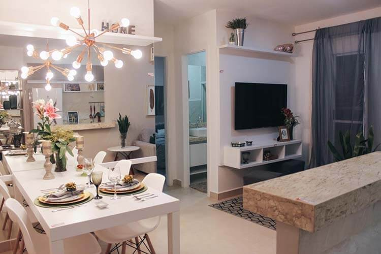 Minha Casa, Minha Vida: apartamento decorado impulsiona as vendas