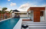 Reforma de apartamento tem piscina com raia, sala de spa e cinema