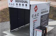 CAC adota portal de desinfecção nos canteiros de obras