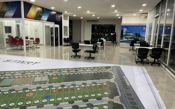 Estande na Barra tem maquete com experiência real para os clientes